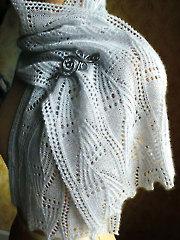 Fernfrost Scarf Knit Pattern