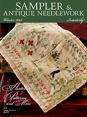Sampler & Antique Needlework Quarterly Winter 2013