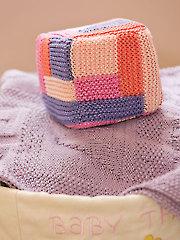 Geometric Block Toy Knit Pattern