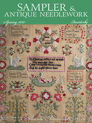 Sampler & Antique Needlework Quarterly Spring 2011