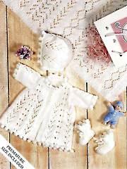 Bobbles & Lace Baby Set