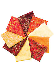 Artisan Spirit Shimmer Sunglow Fat Quarters - 9/pkg.