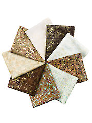 Artisan Spirit Shimmer Earth Fat Quarters - 9/pkg.