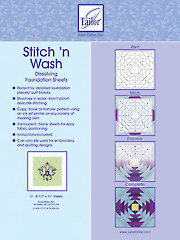 Stitch 'n Wash Dissolving Foundation Sheets