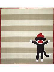 Sock Monkey Quilt Pattern
