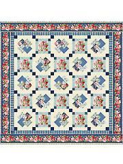 Vintage Florals Quilt Pattern