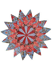Dahlia Star Table Topper Pattern
