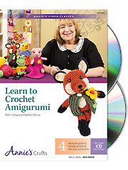 Learn to Crochet Amigurumi Class DVD