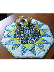 Sunburst Table Topper Pattern