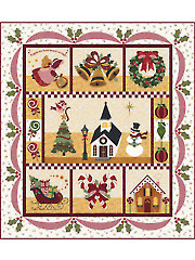 Blessings of Christmas Morning Laser-Cut Quilt Kit