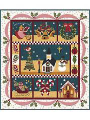 Blessings of Christmas Night Laser-Cut Quilt Kit