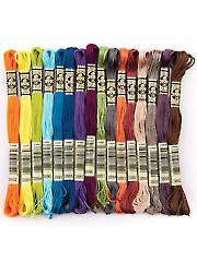 DMC Embroidery Floss - 16 New Colors