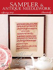 Sampler & Antique Needlework Quarterly Spring 2014