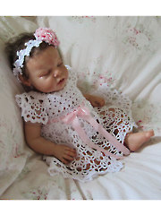 Cielo Crochet Dress & Headband
