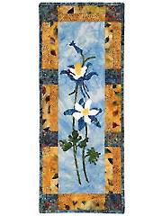Colorado Columbines Wall Hanging Pattern