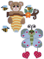 Bee Hive Yourself Bear and Butterfly