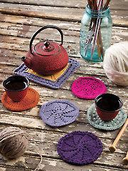 Coasters & Trivet Knit Pattern