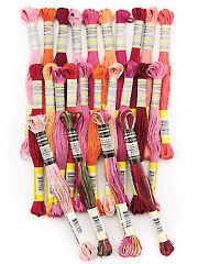 Sullivans Crimson Tapestry 6-Strand Embroidery Floss - 24/pk.