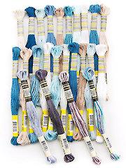 Sullivans Ocean 6-Strand Embroidery Floss - 24/pk.
