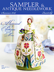 Sampler & Antique Needlework Quarterly Summer 2014