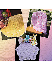 Matelasse Crochet Baby Afghans