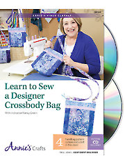 Learn to Sew a Designer Crossbody Bag Class DVD