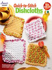 Quick-to-Stitch Dishcloths