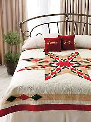A Christmas Star Quilt Pattern