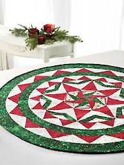 Christmas in the Round Table Topper Pattern
