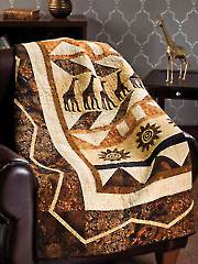 By Way of Africa Quilt Pattern