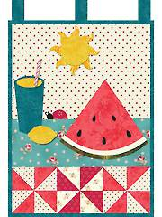 August Little Blessings Wall Hanging Pattern