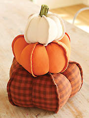 Pumpkin Trio Sewing Pattern