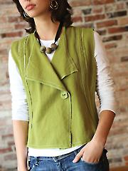 Modern Silhouette Vest Sewing Pattern