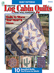 Creative Log Cabin Quilts & Wall Hangings