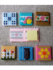 Notepad Covers Plastic Canvas Pattern