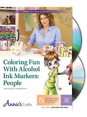 Coloring Fun With Alcohol Ink Markers: People Class DVD