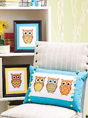Owls Galore Cross Stitch Pattern