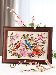 Bluebirds Cross Stitch Pattern