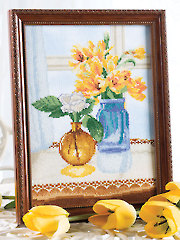 Jewels of Summer Cross Stitch Pattern