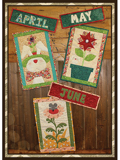 Doodle Days Calendar & Base Quilt Patterns