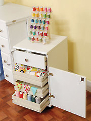 Suzi Storage Cabinet - Oak or White