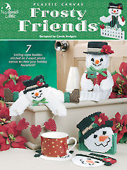 Frosty Friends Plastic Canvas Pattern