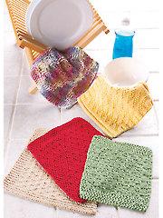 Dishcloths Knit Pattern