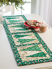 Yuletide Greens Table Runner Pattern