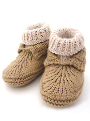 Baby Moc-a-Soc Knit Pattern