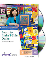 Learn to Make T-Shirt Quilts Class DVD