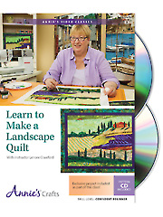Learn to Make a Landscape Quilt Class DVD