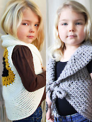 Mommy & Me Crochet Vests