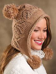 Mocha Hoodie Hat