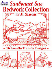 Sunbonnet Sue Redwork Collection